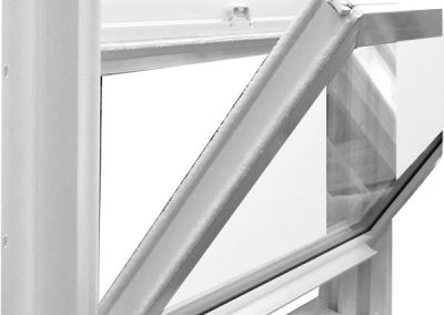 Window sash tilt