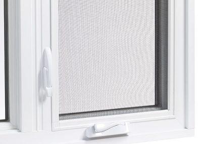 Econova casement window crank and lock